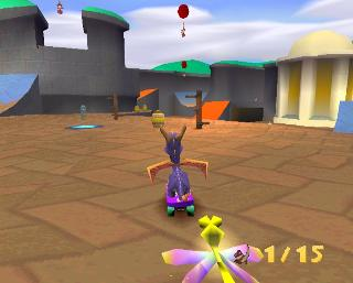 Screenshot Thumbnail / Media File 1 for Spyro the Dragon 3 - Year of the Dragon [NTSC-U]